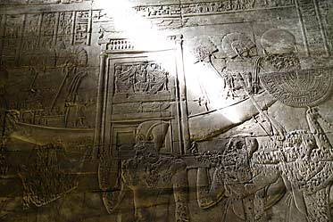 Edfu Temple Relief